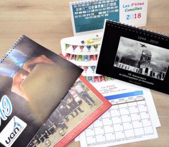 Le Calendrier à spirale, un calendrier photo personnalisé