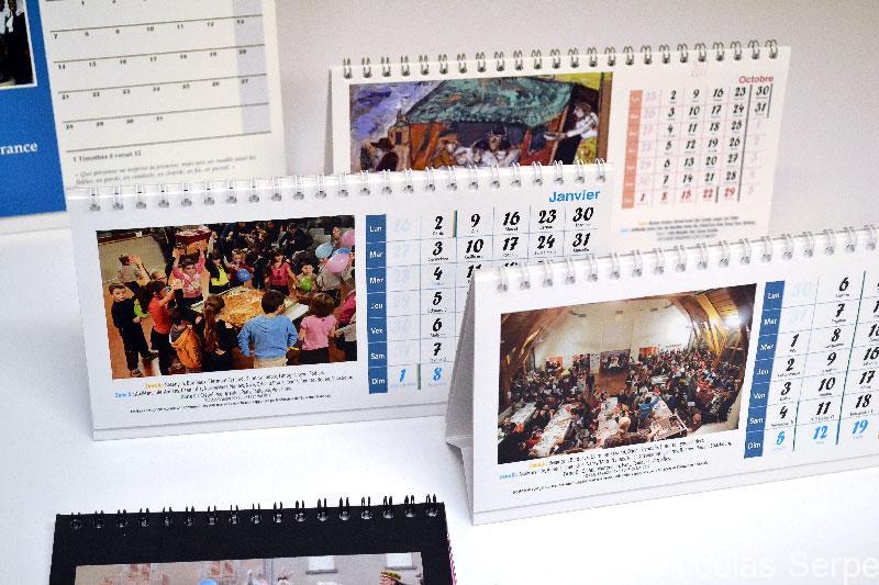Imprimer et personnaliser un calendrier associatif 2021 en ligne