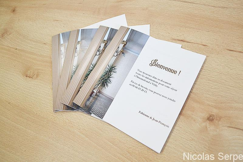 Impression brochure pas cher en ligne, petite quantité ou unité, personnalisable